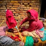 Nepal - Baby massage