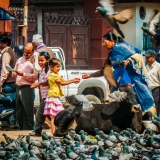 Nepal - Kathmandu - Crowded place