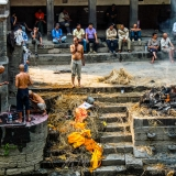 Nepal - Pashupatinath - Cremation