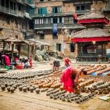 Nepal - Pottery clay
