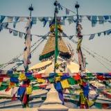 Nepal - Prayer flags