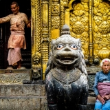 Nepal - Temple scene