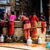 Nepal - Women taking water