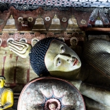 Sri Lanka - Dambulla Buddhas 2