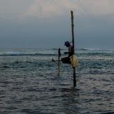 Sri Lanka - Fisherman on stilts 2
