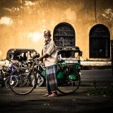 Sri Lanka - Man & his bike