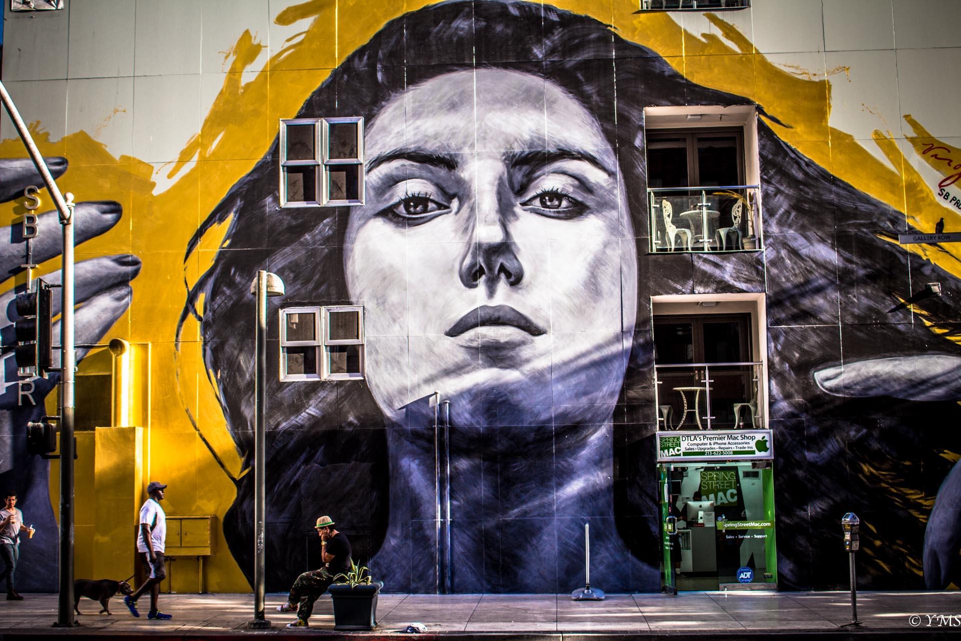 LA - Face Wall